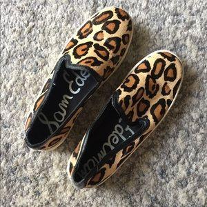 Sam Edelman Cheetah Slip Ons